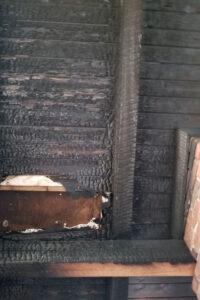 Burned ceiling 2